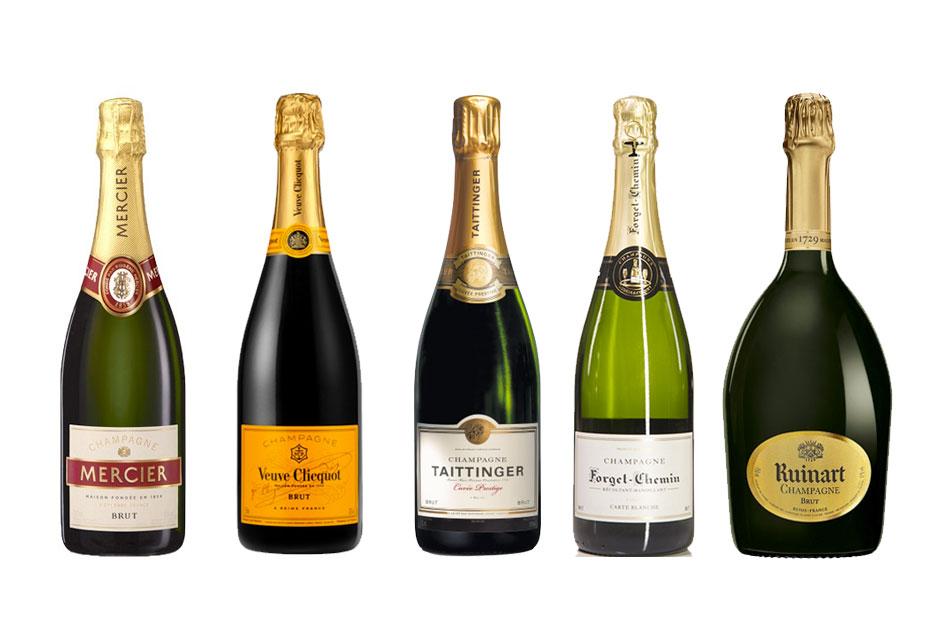 image de 5 bouteilles de champagne