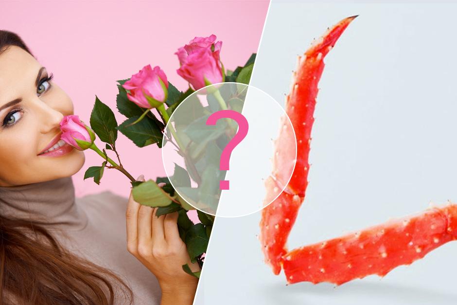 article sur offrir des fleurs ou des fruits de mer