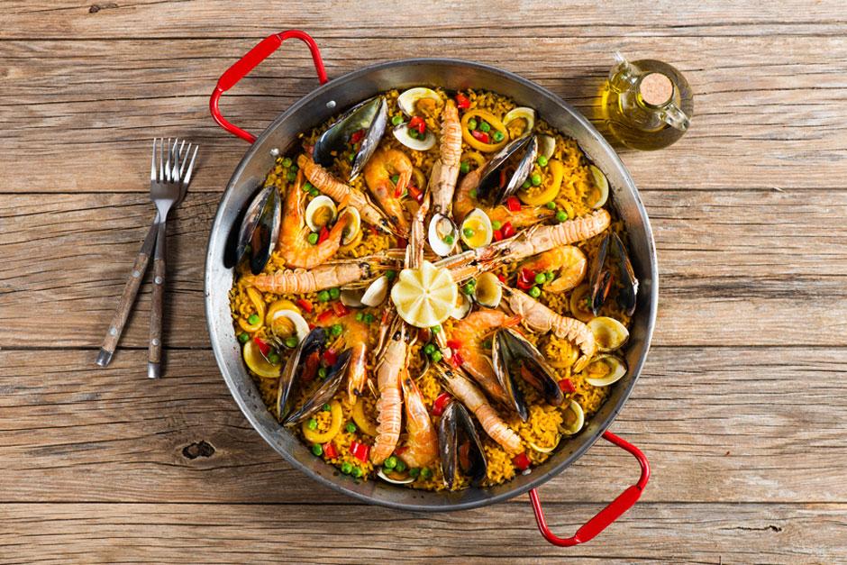 illustration de l'article sur la livraison de paella sur paris