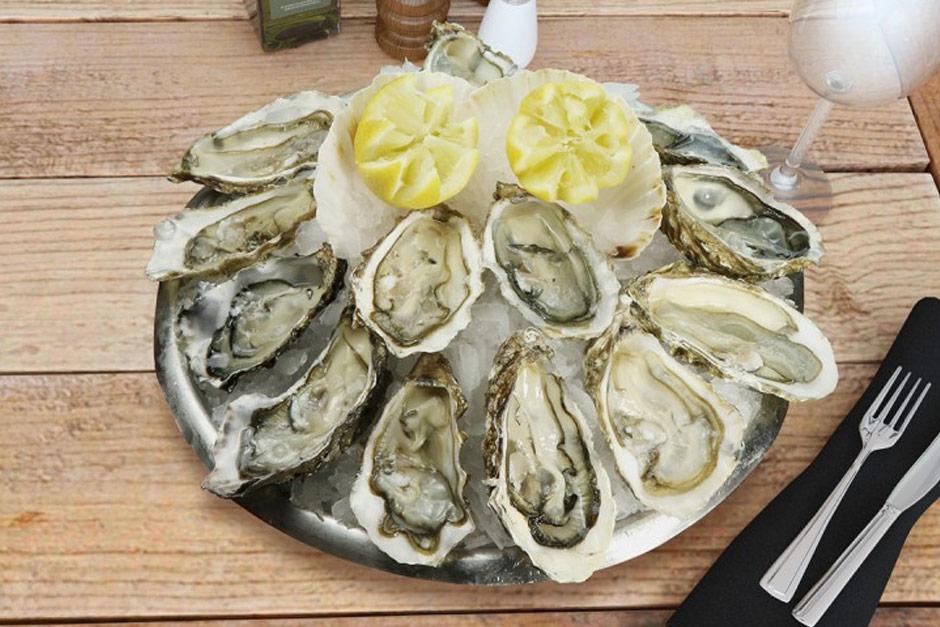 photo du plateau de fruits de mer le degustation