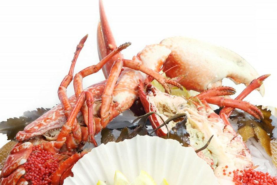 photo du plateau de fruits de mer le majestueux