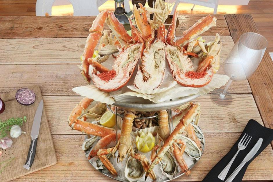 livraison restaurant plateau de fruits de mer l'imperial à paris